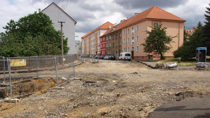 Rekonstrukce křižovatky ulic Písečná a Osvobození